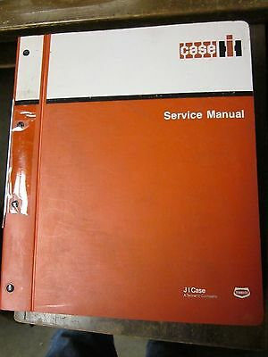 OEM CASE 4494 4694 Tractor SERVICE SHOP REPAIR Manual Book GUC