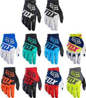 2017 Fox Racing Dirtpaw Race Gloves - MX Motocross Off-Road ATV Dirt Bike Gear