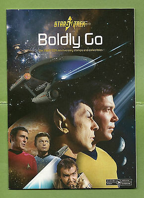 STAR TREK - Boldly Go 50th Anniversary - Canada Post Stamp Catalogue