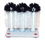 Winco Glass Washer Brush, Set of 3...NEW