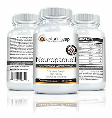 Neuropaquell. Clinical Strength Neuropathy Pain Relief. Advanced Nerve Sup...NEW