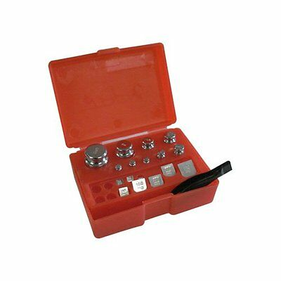 17 Piece - Class M2 - Calibration Weight Set With Red Storage Case...NEW