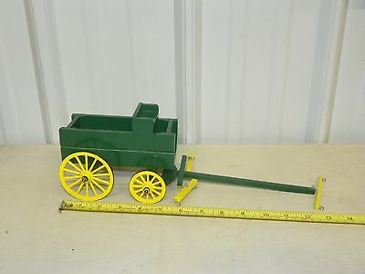 Handmade Custom Grain Box Wagon Cart for Breyer Paddock Pal Horses ~ Green