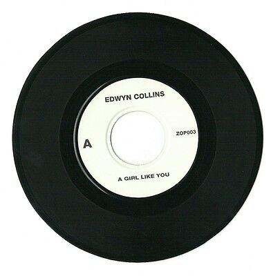 """EDWYN COLLINS - A GIRL LIKE YOU / YOU'RE ON YOUR OWN 7""""vinyl UK jukebox single"""