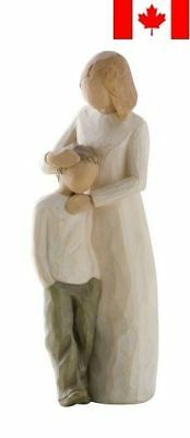 Demdaco DD26102 Willow Tree Mother and Son Figurine