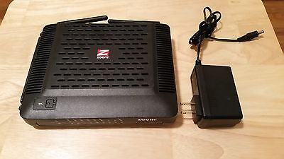 Zoom Cable Modem with Built In Wireless N Router 343 Mbps DOCSIS 3.0 MODEL 5352