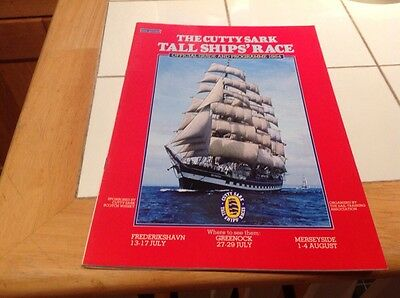 Souvenir Of The Cutty Sark Tall Ship's Race Official Guide And Programme 1984
