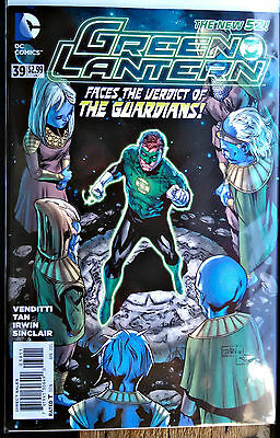 Green Lantern #39 DC's New 52 SOLD OUT! The Guardians