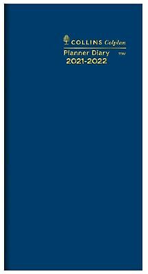 COLLINS◉2020-2021◉B6/7 Colplan Planner Diary◉Month To View◉2 Yrs◉Navy◉11W.V59-20