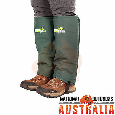 Snakeprotex Gaiters Junior XS 370mm L X 370mm CIRC Snake Protection Hiking