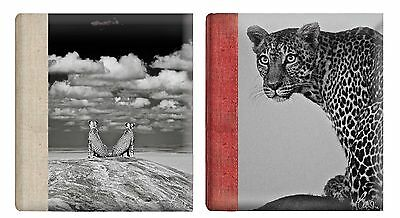 Deluxe Large Wildlife Self Adhesive Photo Album HoldVarious Sized Photos 30Pages
