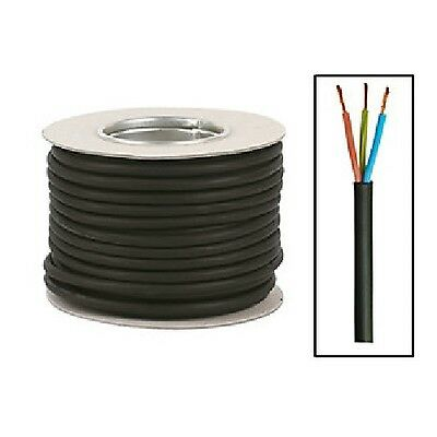 RUBBER CABLE H07RN-F H07RNF HO7RNF TOUGH HEAVY DUTY 1mm 1.5mm 2.5mm 4mm 6mm
