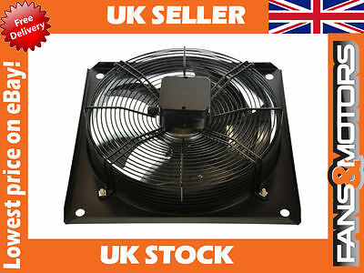 Kitchen Extractor, Extract Motor Axial Exhaust Commercial Blower Plate Fan.