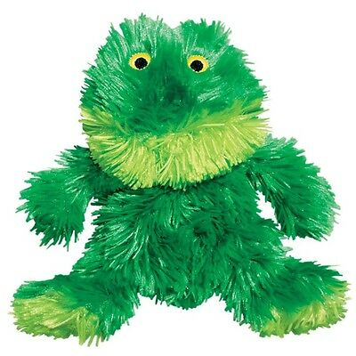 Kong Plush Frog – Really Cute Unstuffed Dog Squeaky Toy + Additional Squeaker!
