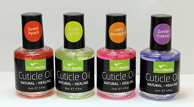 PRO German Quality NDED Cuticle Oil VANILLA OR STRAWBERRY 15 ml EU Seller