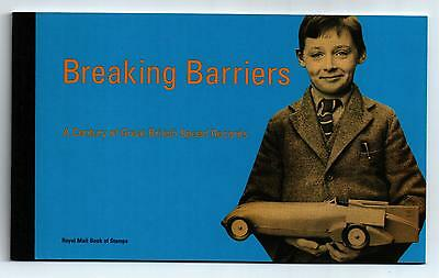 Gb Stamps Breaking Barriers Prestige Booklet  Dx21