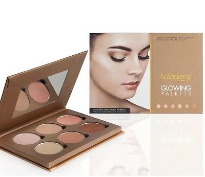 bellapierre Cosmetics Glowing Palette/ Bronzer RRP £40.00 NEW AND SEALED