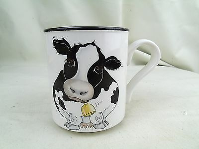 Back To Front Cow Mug Cup Arthur Wood Vgc Free Post