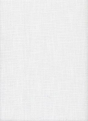 Zweigart 27 count Meran White E/W Cross Stitch Fabric - 1 fat quarter 49x70cms