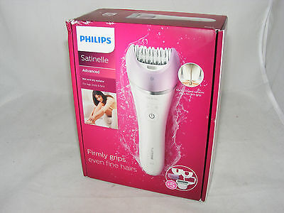 Philips Satinelle Advanced Wet And Dry Epilator BRE630 - New