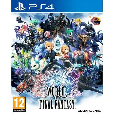 World of Final Fantasy (PS4) BRAND NEW AND SEALED - IMPORT - QUICK DISPATCH