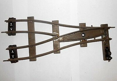 Hornby O gauge parallel points for clockwork layouts R/H 2ft radius PPR2