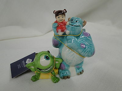 New Westland Giftware DISNEY MONSTERS INC Mike Sully Boo Salt Pepper Shakers