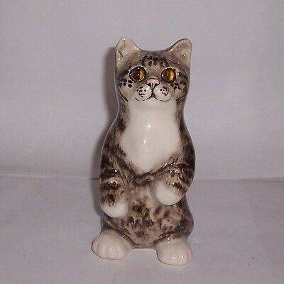 Winstanley Cat Kitten Size 1 Tabby and  White On Hind Legs