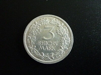 Weim.Republik., 3 Mark , 1931-1933 ,1931 E ,vz-st, RR !!, J.349