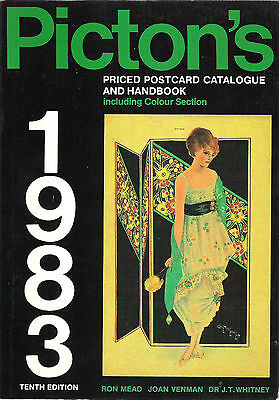 """""""Pictons Priced Postcard Catalogue and Handbook 1983"""" Longmans paperback"""