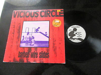 "Vicious Circle ""barbed Wire Slides"" 1990 Lp (Darkwave, Ambient, Some Bizzare)"