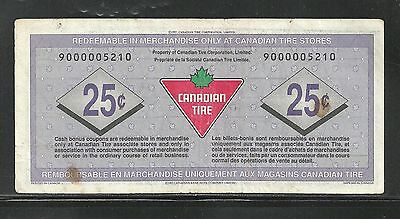 Canadian Tire Replacement Note  9000005210