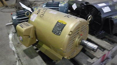 20 HP Baldor Reliance Electric Motor, 1800 RPM,254T 256T Frame, DP,230/460 V,New