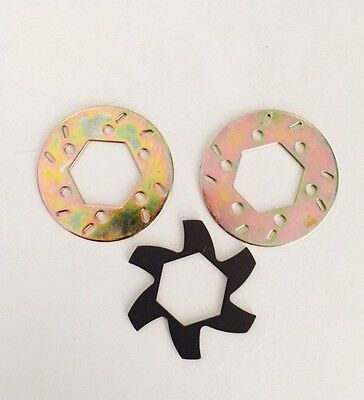 Hpi Baja Brake Disc Rotor With Fin Plate For Hpi Km Rovan 5B 5T 5Sc Ss.