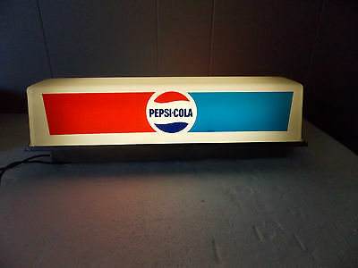 Vintage Light Up Pepsi Sign. Working, New Bulb