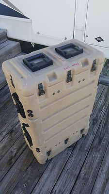 SUPER MAC - Pelican HARDIGG CASES Rack Case (Wheeled)
