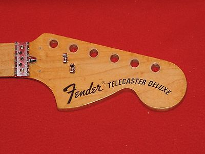 Fender 1973 USA Maple Telecaster Deluxe Neck