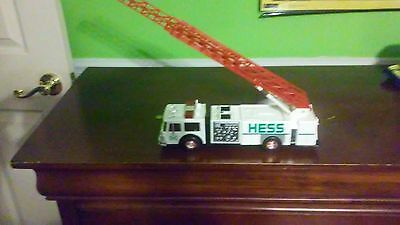 1989 hess fire truck and letter