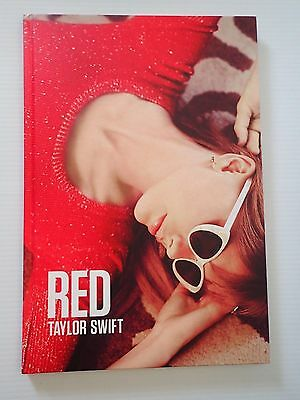 """Taylor Swift COLLECTIBLE """"RED"""" Album PHOTO hardcover BOOK brand new RARE"""