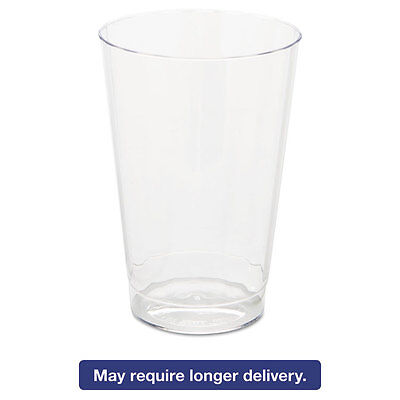 WNA Classic Crystal Plastic Tumblers 12 oz Clear Fluted Tall CC12240