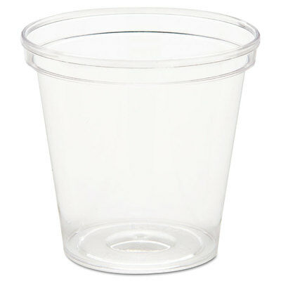 WNA Comet Plastic Portion/Shot Glass 1 oz Clear P10