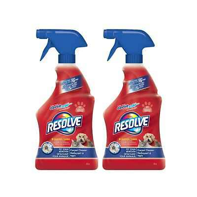 Resolve Carpet Cleaner Pet Stain Removal Trigger 650 ml (Pack of 2)