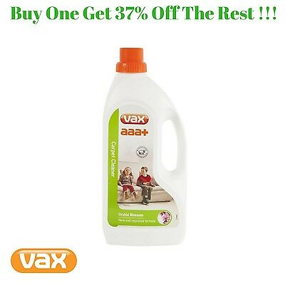 Vax AAA+ Plus Improved Upholstery Carpet Cleaning Formula Solution Shampoo 1.5 L