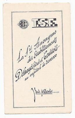CATALOGUE TSF DEPLIANT - DESHAYES frères COURTOIS - 1928 ?  RADIO LAMPES