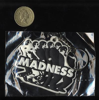 Madness - Large Embossed Rubber Keyring - Suggs Ska Two Tone Specials Stiff