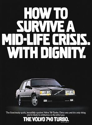 Classic Car Advert 1988 Volvo 740 Turbo High Gloss A4 Print Looks Stunning
