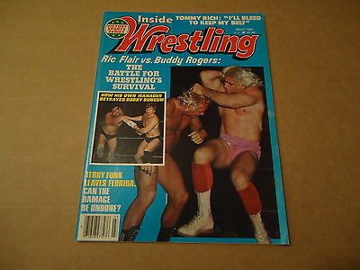 "Inside Wrestling March 1980 Ric Flair v Buddy Rogers ""Battle Of The Nature Boys"""