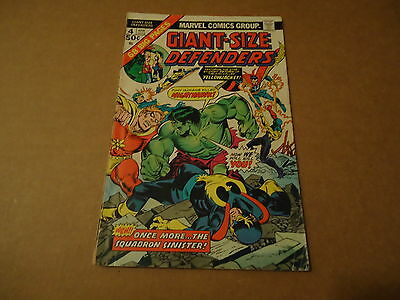 Giant-Size Defenders #4 (Apr 1975, Marvel)