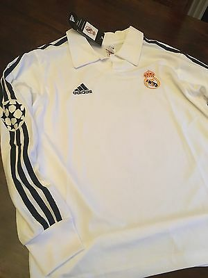 Real Madrid Medium Retro Remake Zidane 5 2002 centenary Shirt Champions League