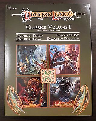 Dragonlance Classics I Modules - Near Mint & Complete
